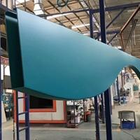 焊接弧形铝方通 S波浪铝方通定制