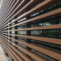 仿木木纹铝方通、定制外墙装饰用方通