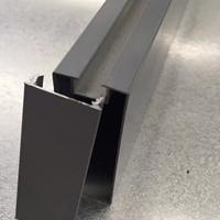 木纹U型铝方通 白色弧形铝方通定制