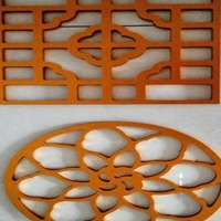 热转印木纹铝合金型材焊接窗花
