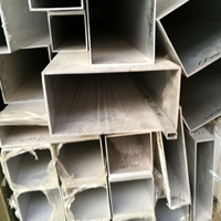 300x80x3国标扁铝管 喷涂木纹方铝管加工