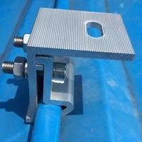 彩钢瓦光伏夹具铝合金支架配件