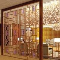 展览馆仿古铝窗花 铝合金仿古窗花