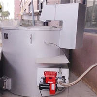 350公斤天然气熔铝炉 铝合金熔化保温炉