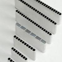 供应铝排管 铝扁管 散热管