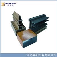 厂家直销铝型材电泳金色氧化加工生产