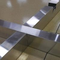 大规格铝格栅  滚涂木纹铝格栅方通