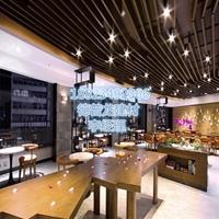 港式茶餐廳鋁方通吊頂
