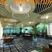 酒店装饰木纹铝板 上海木纹铝方通