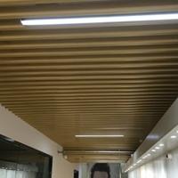 厂家直供吊顶 铝方通吊顶 铝方通吊顶材料