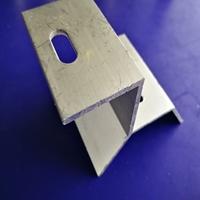 铝合金梯形彩钢瓦光伏夹具
