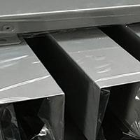 供应休闲会所木纹铝方通厂家_德普龙天花