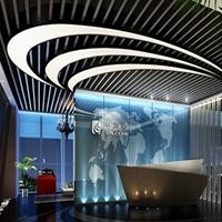 供应外墙造型铝方通厂家订做幕墙铝方通