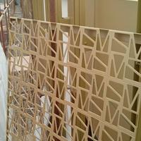 售楼部外墙铝板 别墅木纹铝单板