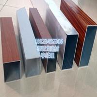 木紋鋁方管-機場能源站走道立面木紋鋁方管