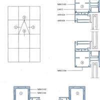 供应各类铝合金幕墙型材
