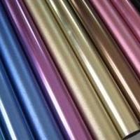 氧化彩色铝管6063现货直销