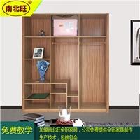 簡易鋁合金衣柜 全鋁合金衣柜門板