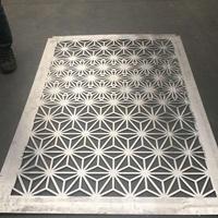 迪拜出口雕花鋁單板 激光雕刻鋁窗花