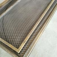 铝网板厂家冲孔铝单板厂家弧形铝方通报价表