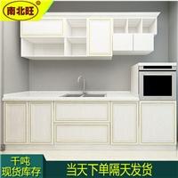 櫥柜門用什么材料 鋁合金簡易櫥柜