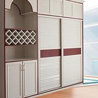 铝合金厨房壁橱铝型材批发工厂