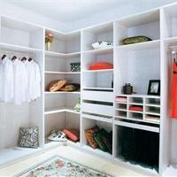 铝合金高档衣柜定制铝型材批发厂家