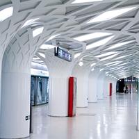 机场IU型铝方通天花吊顶
