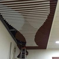 大世界商场外墙造型铝方通-生产厂家