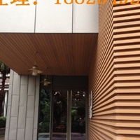 購物中心天花吊頂鋁方通-室內外墻購物中心