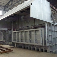 蓄热式燃气熔铝炉35吨