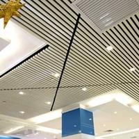 商场吊顶50100U型铝方通厂家直供