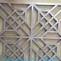 历史纪念馆装饰木纹铝窗花_木纹铝合金窗花