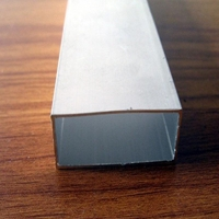 6061铝型材  环保铝扁管方管
