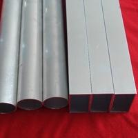 供应隔断用铝方通  氧化铝方管6063
