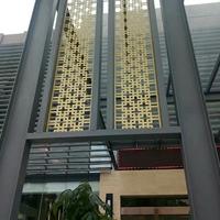 酒店KTV型材铝窗花装饰