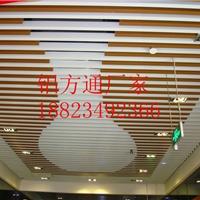 商业广场木纹铝方通 室内铝方通吊顶