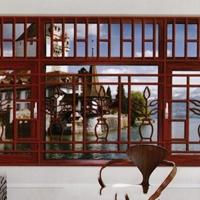 中空玻璃铝窗花-防火镂空雕花铝窗花