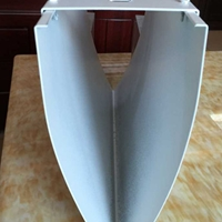 供應定做V形鋁方通_U形鋁方通吊頂廠家