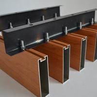 木纹型材铝方通定制厂家