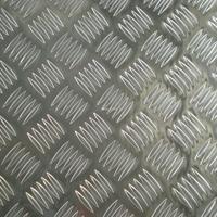 5086防滑压花铝板 一条筋铝板