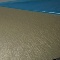 进口LC4拉丝铝板氧极氧化