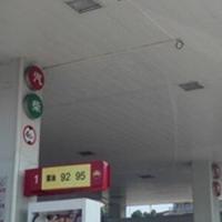 加油站條形鋁扣板-鋁條扣天花