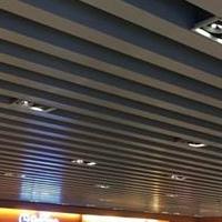 高端品牌定制商场造型铝方通吊顶