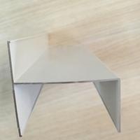 小h铝四字净化铝型材50窗框料