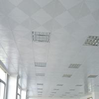 沖孔鋁板天花--吊頂鋁扣板--阻燃鋁天花板