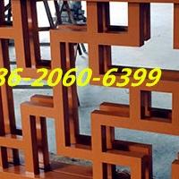 仿木纹铝窗花-木色铝护栏-铝合金百叶厂家