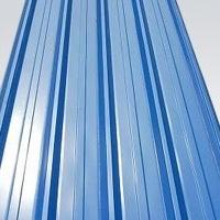 厂家海蓝色压型铝板,聚酯漆