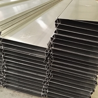 粉末涂层铝扣板吊顶300mm防风铝条板