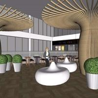 包柱铝树 铝型材包柱铝树 铝方通铝树